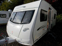 Lunar Conquest 534 2011 4 Berth Fixed Bed Lightweight High Spec Touring Caravan