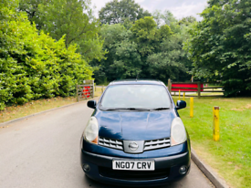 NISSAN NOTE 2007 5DR 1.4L 12 MONTH MOT IDEAL CHEAP TO INSURE