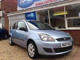 2007 07 Ford Fiesta 1.25 Style Climate 1 Lady owner. FINANCE AVAILABLE
