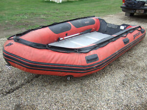 MERCURY  12 FOOT INFLATABLE BOAT