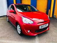 2013 Mitsubishi Mirage 3 1.2 AUTO CVT 5 DOOR FREE ROAD TAX 21,000 MILES