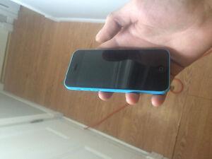 I phone 5 c blue St. John's Newfoundland image 1