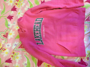 XS Womens Lakehead sweater/ size small aidias zip up sweater
