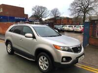 2012 '62' Kia Sorento 2.2CRDi (4WD) 7 SEATER! AUTO! KX-2 FULL BLACK LEATHER!
