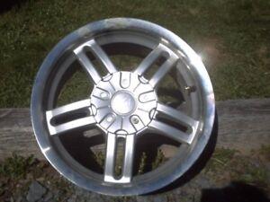 Rims - Aluminum four 15inch, 5 bolt (Universal)