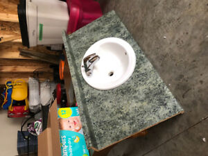 """Free 48"""" counter and sink"""