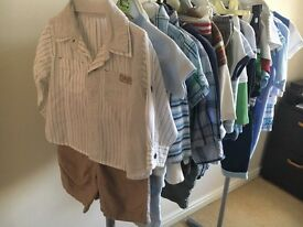 Baby Boys clothes bundle age 6-9 months (and 9-12)