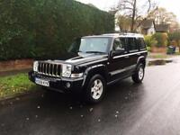 2008 Jeep Commander 3.0 CRD V6 auto Limited ONLY 71K