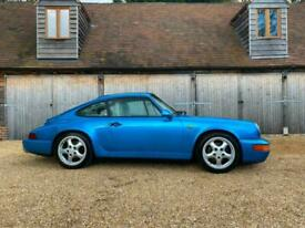 Porsche 911 / 964 Manual Coupe, Rare Tahoe Blue factory colour, Linen leather.