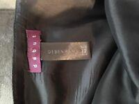 Full Length Black Formal Skirt