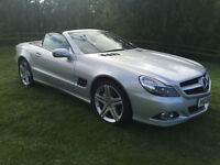 2009 MODEL (58) NEW SHAPE Mercedes-Benz SL500 5.5 7G-Tronic 1 OWNER FMBSH