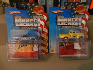 Hot Wheels Connect Cars Rare 70 Torino,52 Chevy Truck