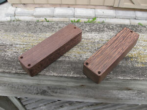 Wenge bass pickup covers $5 each