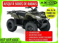 2016 Suzuki KINGQUAD 400 FSI MANUAL