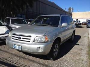 2004 Toyota Kluger Wagon/7seat/automatic Smithfield Parramatta Area Preview