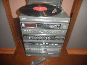 Vintage YORK (NERVAVE) Record Player Stereo