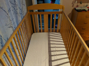 Bassinet et table a langer