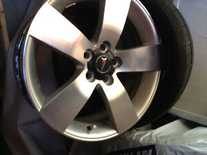 19 inch Pontiac G8 GT rims