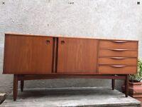 Original Danish Style Mid Century Teak Portwood Sideboard