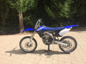 Yamaha YZ450F - Fuel Injected - Perfect for a snow bike kit
