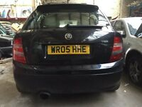 Skoda fabia vrs breaking 2 cars black and red can post parts out