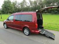 2016 Volkswagen Caddy Maxi Life 2.0 Tdi WHEELCHAIR ACCESSIBLE DISABLED VEHICLE W