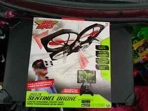 Air Hogs Helix Sentinel Drone plus live streaming googles