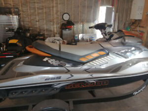2010 RXP 255 cw cover and trailer