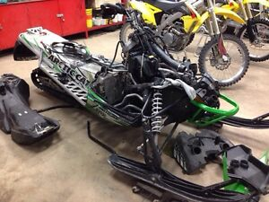 PARTING OUT A 2012 ARCTIC CAT F 1100 TURBO SNOWMOBILE
