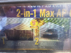 2 in 1 MAX AP tente /abri complet NEUF