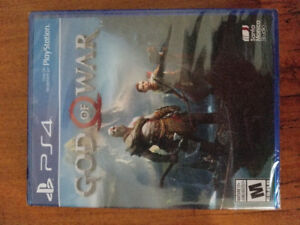 God of war , brand new sealed with dlc