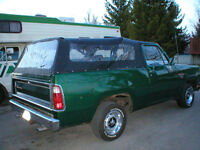 1979 DODGE RAMCHARGER - 2WH DRIVE
