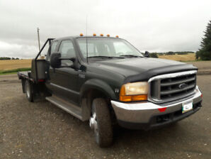 1999 F350 XLT EXT CAB 7.3 Turbo Diesel 4x4 with deck