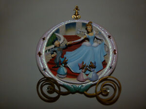 3D Cinderella Plate with the 3 Mice