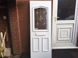 Door panel UPVC