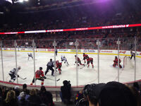 Flames Games in March & April - Lower Bowl Section 102 Row 8