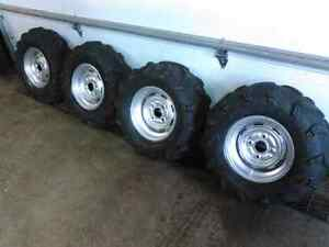Yamaha rhino rims and tires