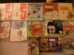 Herman, Far Side, Family Circus, Fox Trot and others treasurys