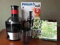 Philips viva juicer 700W xl feeding tube