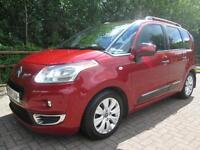 10/10 CITROEN C3 PICASSO EXCLUSIVE 1.6 HDI MPV IN MET RED