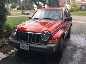 2006 Jeep Liberty, 3.7 Limited, Excellent condition