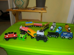 Trains and track and accessories