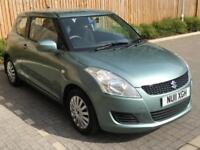 2011 Green Suzuki Swift 1.2 SZ2