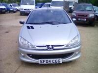 Peugeot 206 2.0 16v ( dig a/c & climate control ) 2004MY Coupe Cabriolet SE
