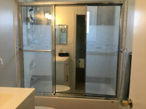 Shower sliding door - 3 panels