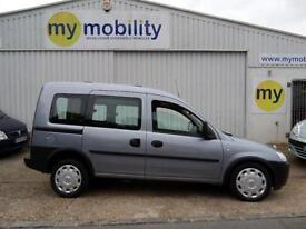 Vauxhall Combo Gowrings Wheelchair Scooter Accessible Car WAV