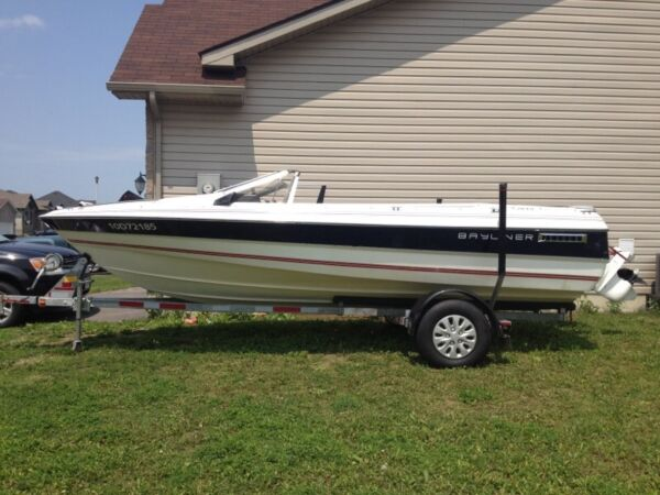 Used 1989 Bayliner 18 feet penta volvo