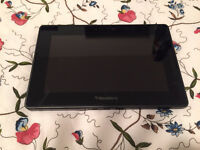 Blackberry Playbook with 4 different cases + charger