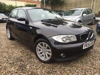 BMW 1 SERIES 1.6, FULL LEATHER INTERIOR, AUDI A3, FORD FOCUS, VAUXHALL ASTRA