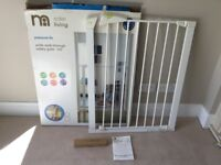 Mothercare Pressure Fix Baby Safety Gate, Brand New